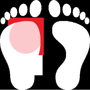 white-human-footprints-pain